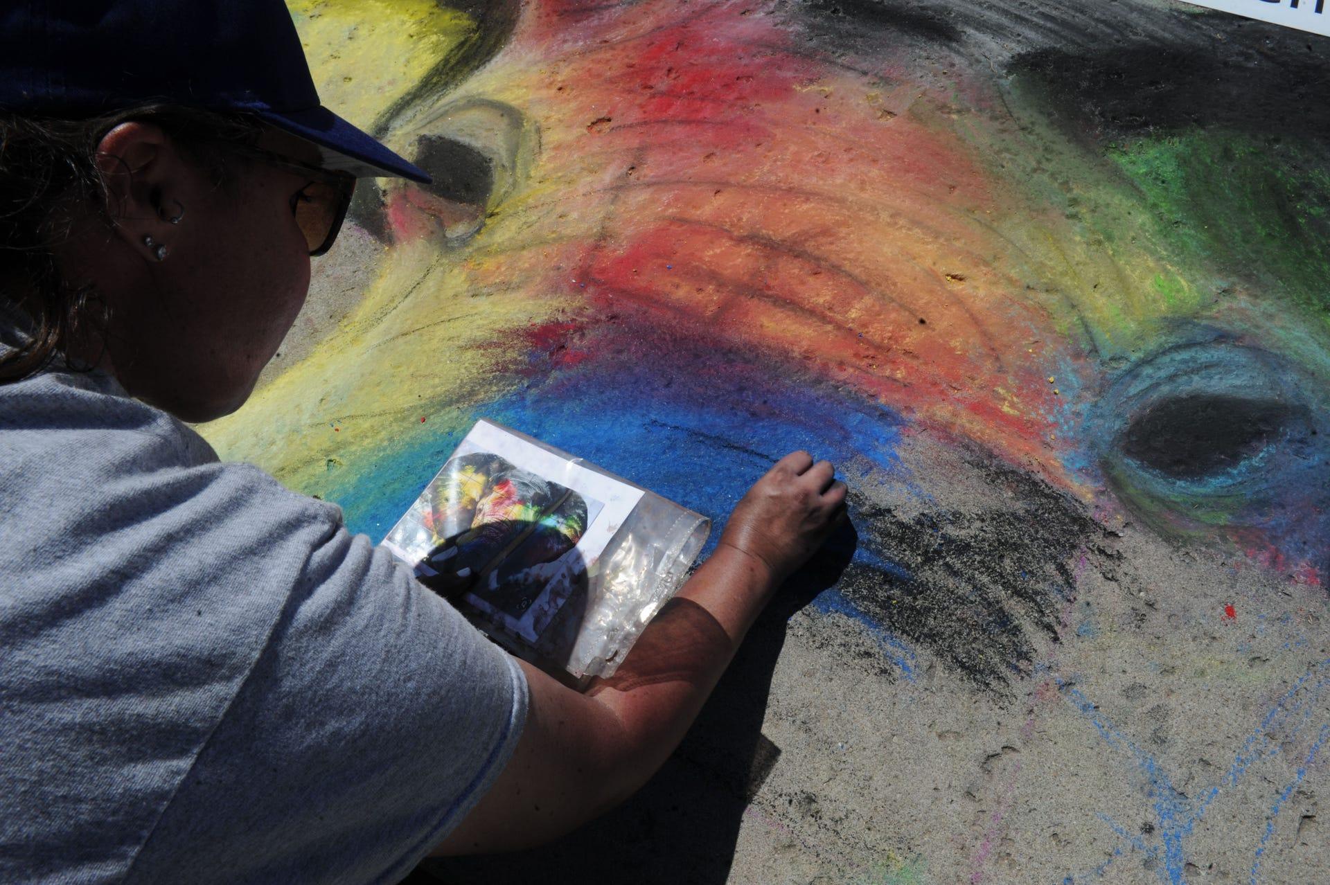 Ventura Art Street Painting Festival Brings Artists To