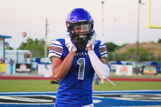 City View senior Jayln Marks is the Red River 22 Small-School team Most Valuable Player after an outstanding season on both sides of the ball.