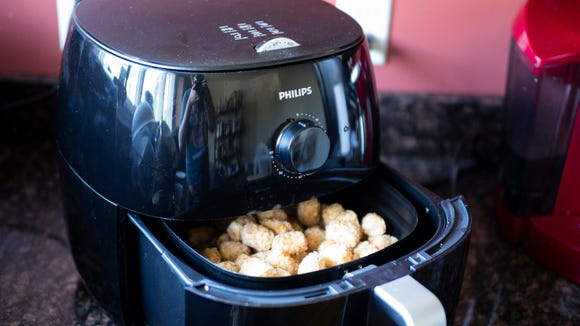 Lose the oil but still enjoy fried foods with the Philips air fryer.