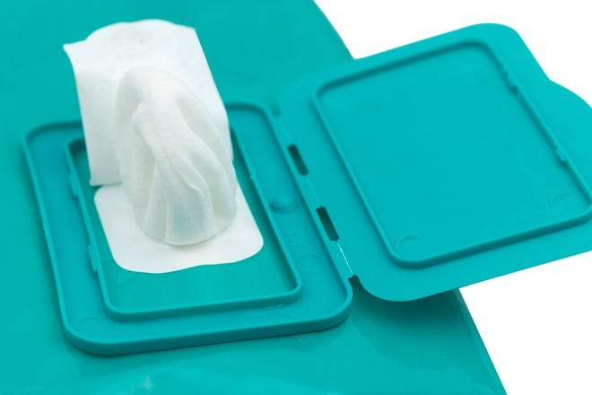 Supposedly flushable wipes are known to wreak havoc on sewer systems.