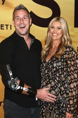 """Christina Anstead and Ant Anstead attend the Los Angeles Special Screening Of Discovery's """"Serengeti"""" for the Performing Arts on July 23, 2019 in Beverly Hills, California."""