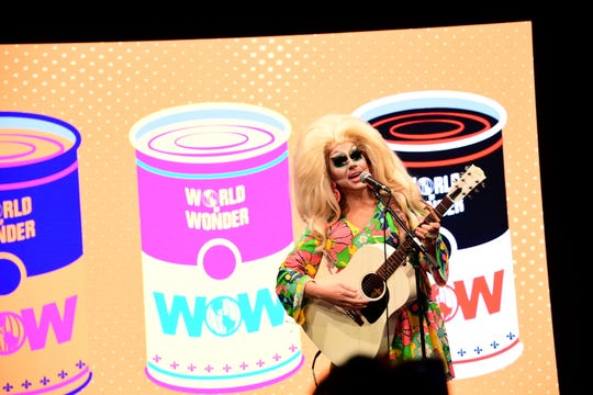 Trixie Mattel, pictured during the 2019 RuPaul's DragCon NYC, held at the Jacob K. Javitz Convention Center in New York City on Sept. 6, 2019.