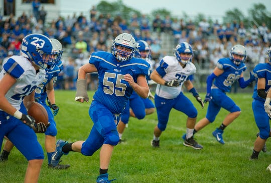 Wynford's Gavin Leffler was a first team All-Ohioan this year.