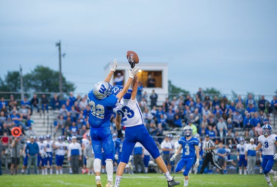 Wynford's Seth Benedict was a lock-down defensive back for the Royals.