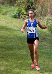 Chillicothe's Danielle Fleurima was the top local placer, placing second for the girls, with a time of 20:51.79 with the team placing fourth overall with an average time of 23:29.1 at the Zane Trace cross country invitational on Saturday, Sept. 7, 2019, in Chillicothe, Ohio.