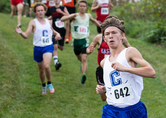 Zane Trace held its annual Zane Trace cross country invitational on Saturday, Sept. 7, 2019, in Chillicothe, Ohio, with the Chillicothe boys placing fifth overall with an average time of 18:39.92 and Adena placing eighth overall with an average time of 19:43.92.