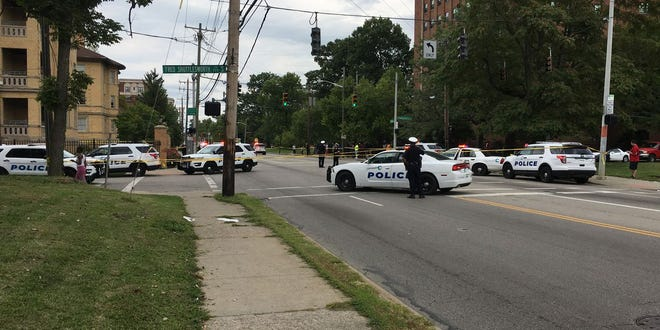 Cincinnati police have confirmed one has died and one was injure following a shooting on Reading Road in North Avondale on Sunday.