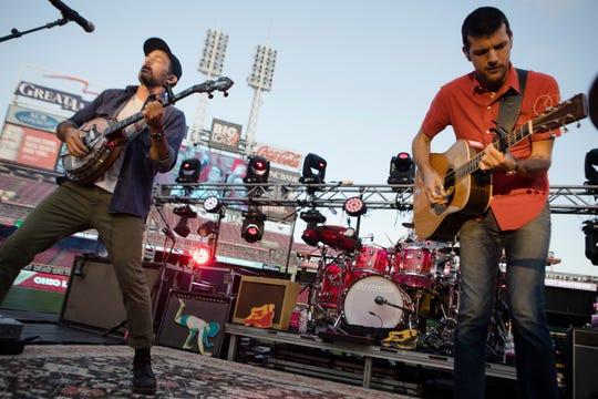 Folk-rockers the Avett Brothers play the Landers Center on Thursday.