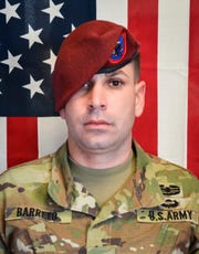 Sgt. 1st Class Elis A. Barreto Ortiz, 34, from Morovis, Puerto Rico