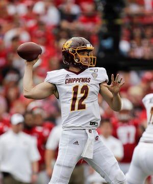Central Michigan quarterback Quinten Dormady