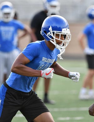 Walled Lake Western receiver Abdur-Rahmaan Yaseen has 389 yards receiving in his first two games this season.