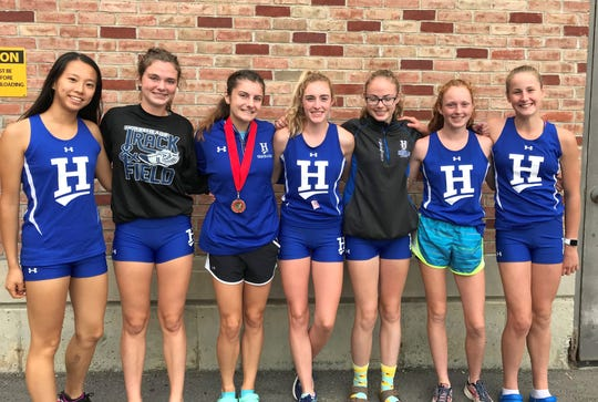 The Horseheads girls cross country team took first place at the Bob Goodell Memorial Invitational, led by a win from Samantha Woodworth.