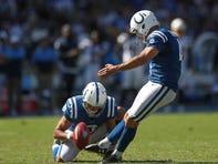 Colts vs. Titans is next: Vinatieri's cranky, Cain's eager