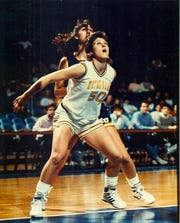 Krissi Davis was a two-time team MVP at University of Notre Dame.