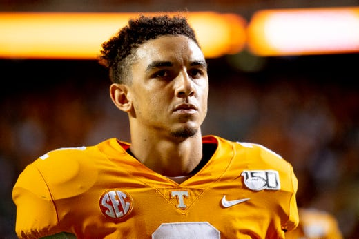 Everything Jarrett Guarantano said about Vols vs. Florida on Tuesday
