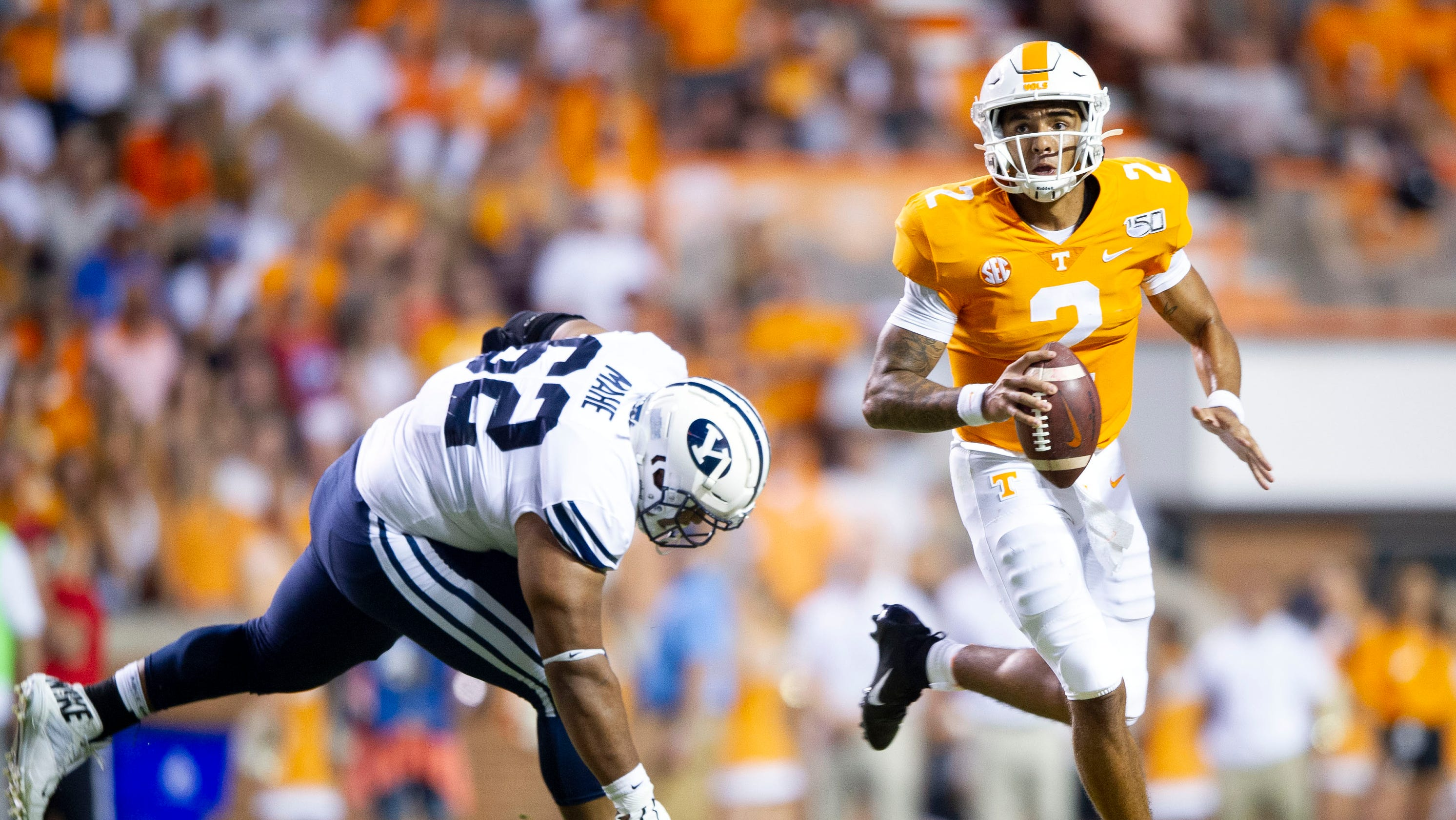 Tennessee football: BYU's Devin Kaufusi ejected for ...