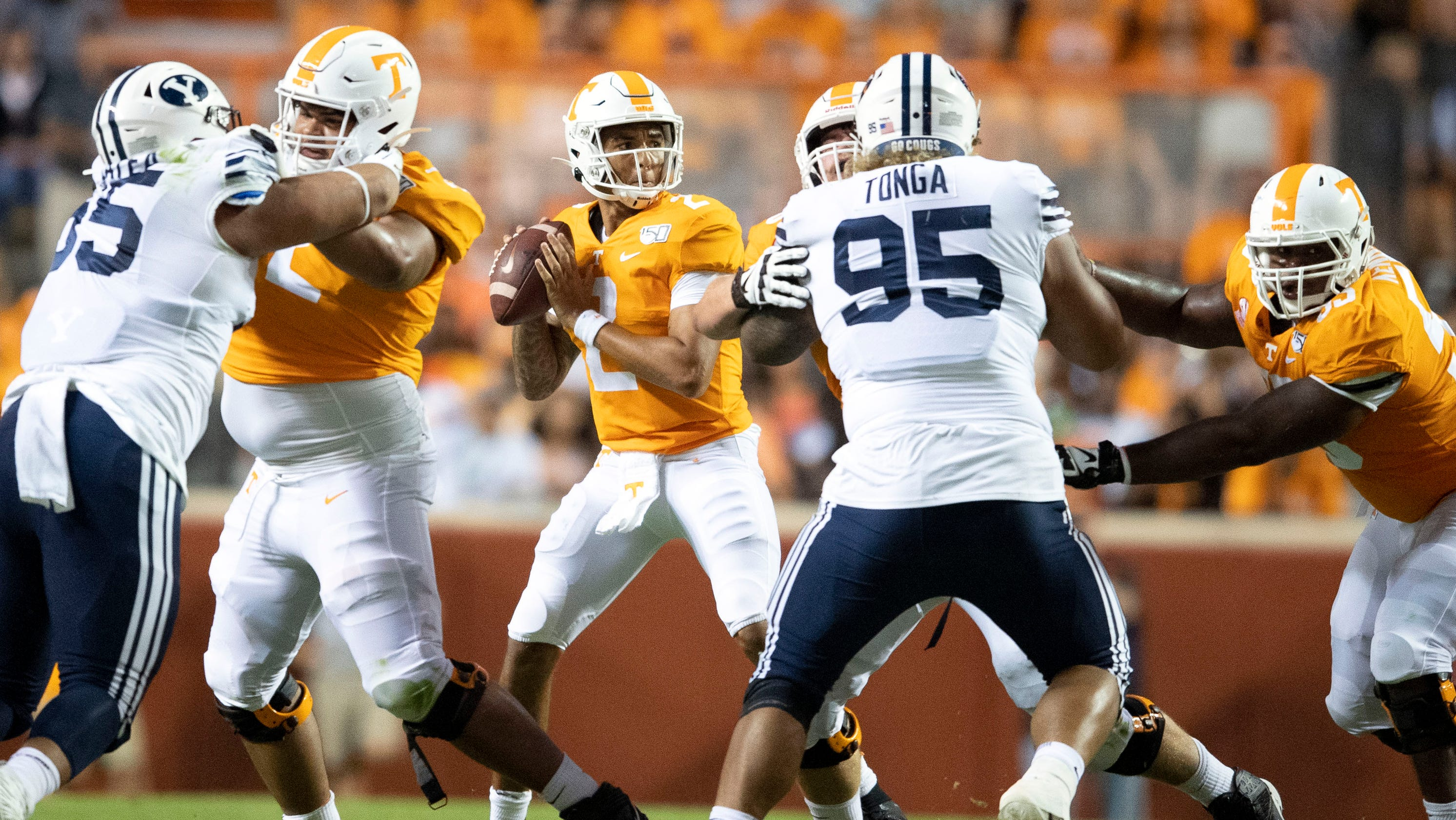 official photos 11e16 31154 Tennessee football: Does Jeremy Pruitt need to settle on an ...
