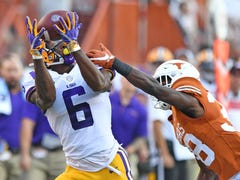 LSU receiver Terrace Marshall Jr. is 'ready to go' after missing 3 games with foot injury
