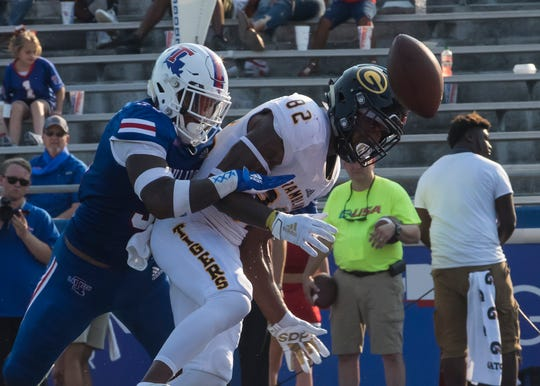Grambling and Louisiana Tech met at Joe Ailet Stadium in Ruston, La. on Sept. 7. Tech would win 20-14.