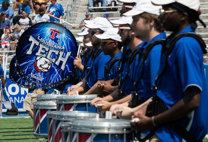 Grambling and Louisiana Tech met at Joe Ailet Stadium in Ruston, La. on Sept. 7. Tech would win 20-14.