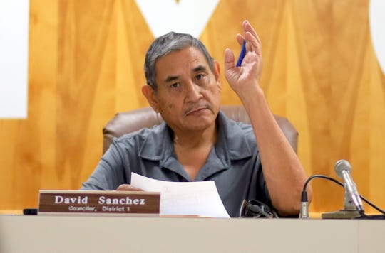 Deming City Councilman David Sanchez.