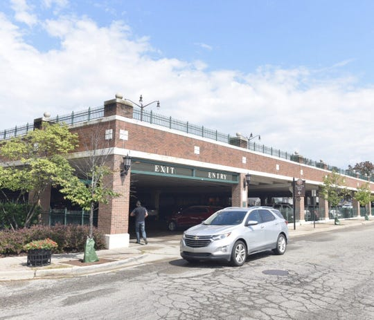 Downtown Northville's Cady Street parking deck will be closed for six to eight weeks beginning Monday, Sept. 9.