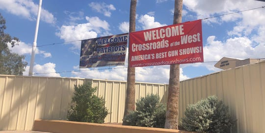 Crossroads of the West Gun Show was at the Arizona State Fairgrounds in Phoenix on Sept. 8, 2019.