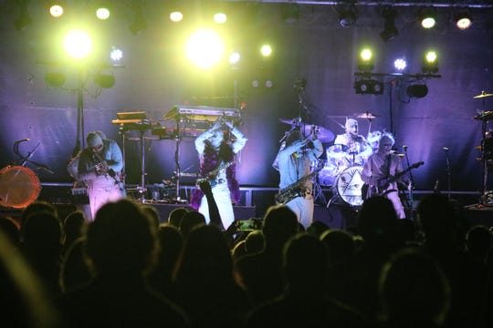 "Back by popular demand, Here Come The Mummies played the 2019 ""Rock the Light"" festival after performing at the inaugural event in 2018."