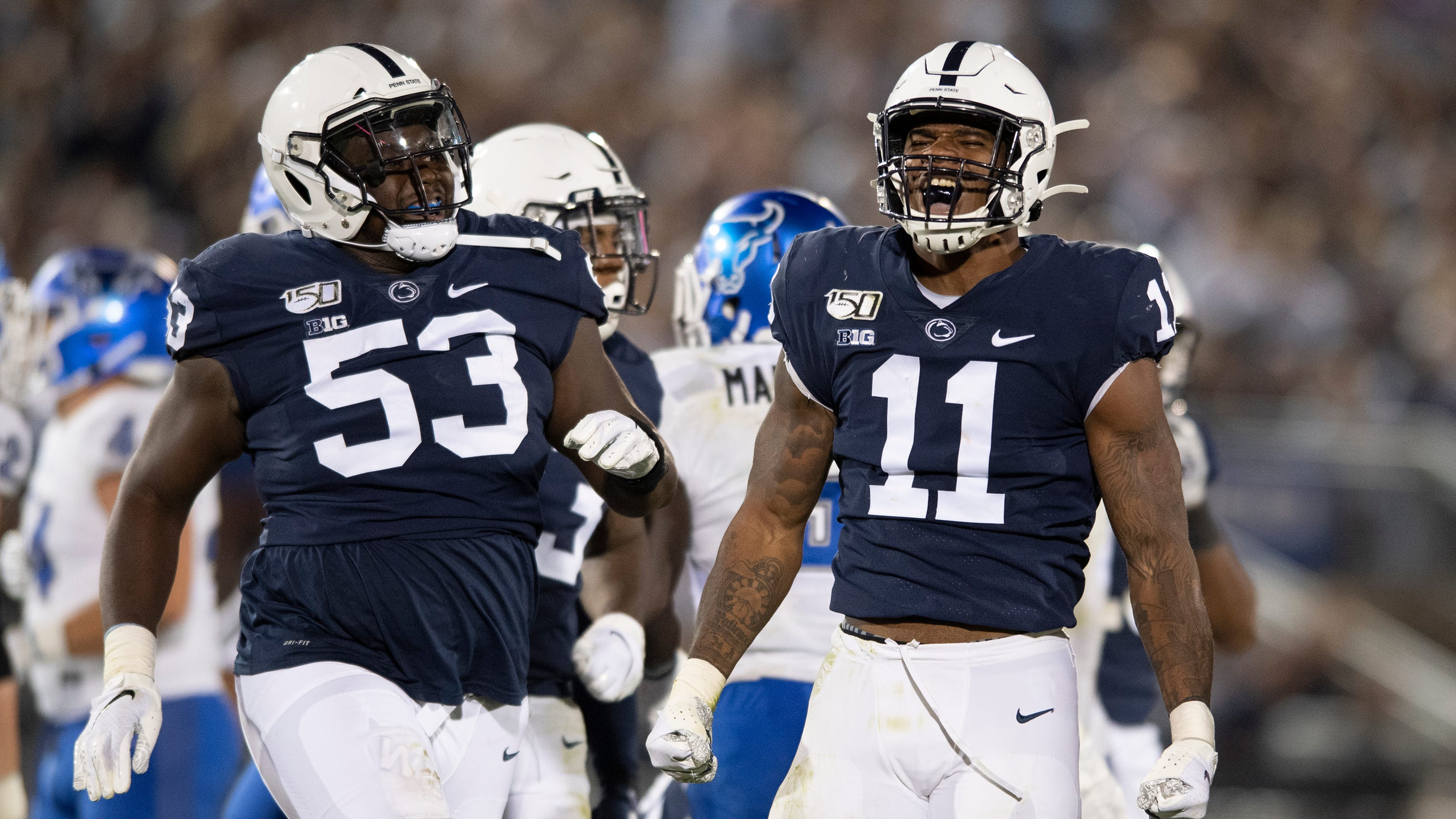 Penn State football: Micah Parsons with All-America effort ...