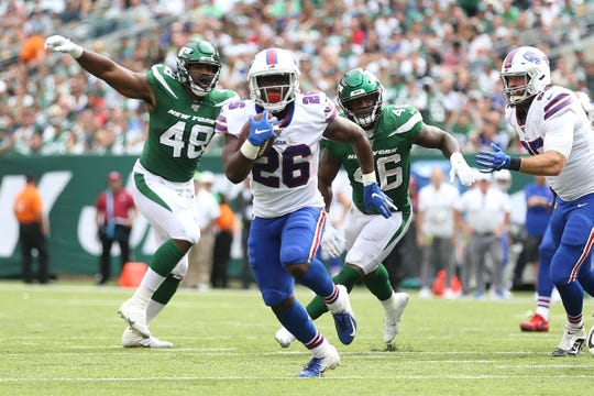 Devin Singletary , a third-round pick, rushed for 70 yards on four carries in the second half of Sunday's win over the New York Jets.