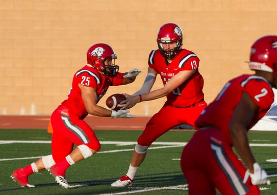The Dixie State Trailblazers lost for the first time since Sept. 7 on Saturday, falling 40-27 to RMAC foe Chadron State.