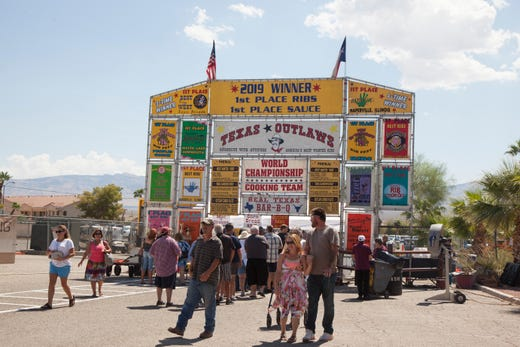 Ribs by the ton: 'Rib Fest' in Mesquite becomes an unlikely favorite for grillmasters