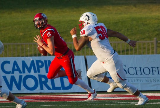Dixie State rallies against Fort Lewis behind Wilstead's huge second half
