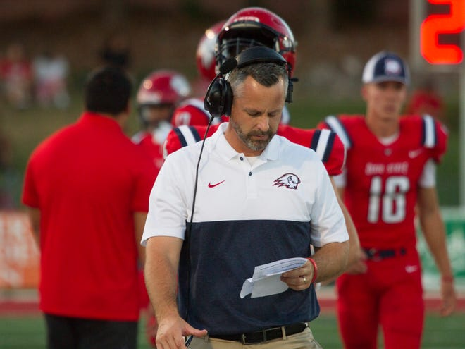 Colorado State University Pueblo football defeats Dixie State 36-7 Saturday, Sept. 7, 2019.