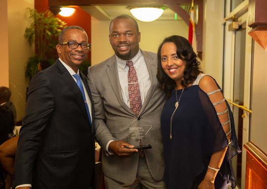 G.C. Murray II, Esq., DPL received the 2019 Community Service award presented by the Tallahassee Barristers Association at the annual President's Ball.