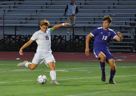 Nolan Lenaghan has been asked to score more goals for Ossining this year and the senior has responded.