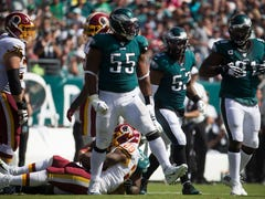 Eagles' offensive, defensive lines letting them down. Where can they turn for help?