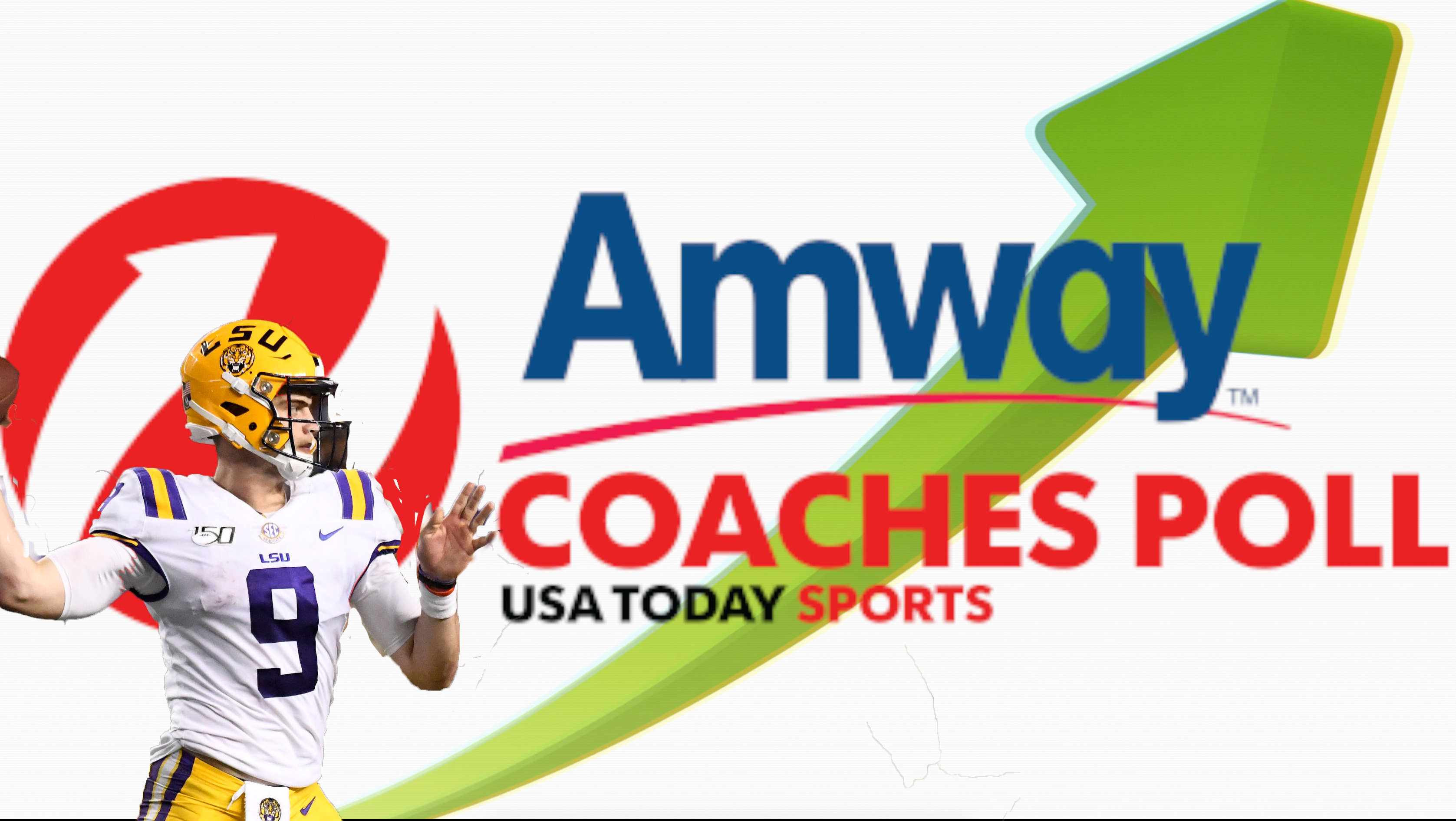 LSU jumps into top five of Amway Coaches Poll after win