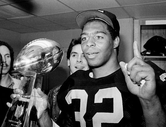 Marcus Allen was named MVP of Super Bowl XVIII while with the Raiders.