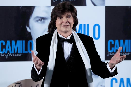 Spanish singer and songwriter Camilo Sesto has died of heart failure at age 72.