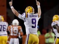 LSU quarterback Joe Burrow's breakout performance pushes him ahead in Heisman Trophy race