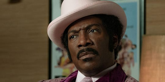 "Eddie Murphy plays 1970s comedian Rudy Ray Moore in ""Dolemite Is My Name."""