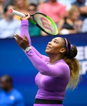 Serena Williams couldn't rely on her biggest weapon - her serve - in her loss to Bianca Andreescu.