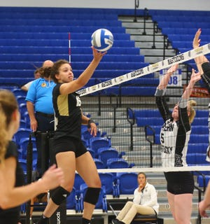 Former Harper Creek standout Charley Andrews has become a key contributor for the Western Michigan University volleyball team.