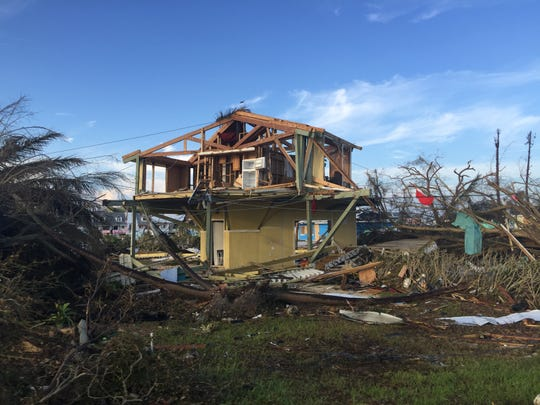 Hurricane Dorian destroyed most buildings in the Treasure Cay and Marsh Harbor areas.
