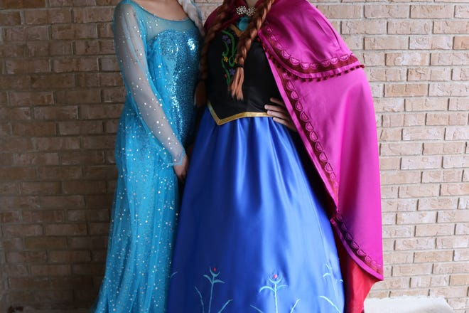 A Royal Princess Party will be at the Crestline Harvest Festival this year. The ice sisters, pictured here, will be available for photos from noon to 2 p.m. Sept. 21 at the gazebo.