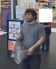 Washington Township police released this surveillance photo after the alleged inappropriate touching of a 10-year-old girl at a Turnersville Walmart on Thursday.