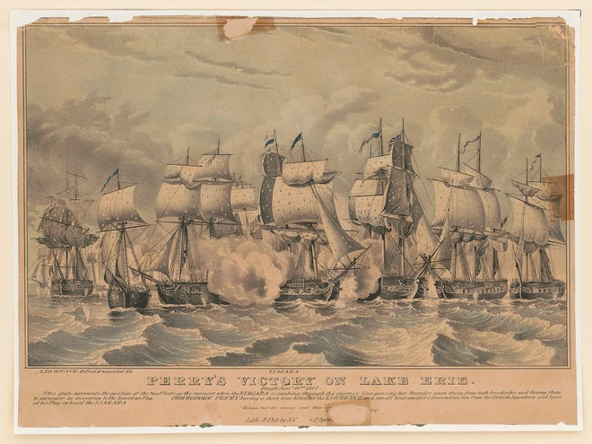 Perry's victory on Lake Erie: fought Sept. 10th 1813.