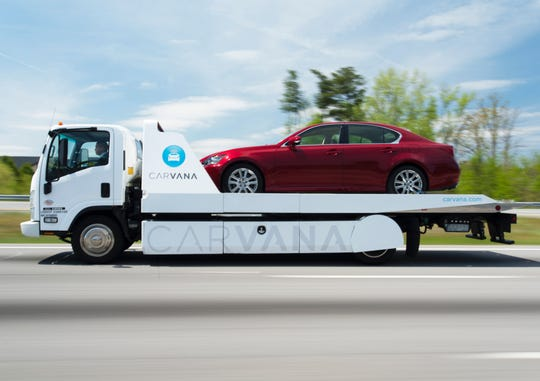 Carvana announced it has launched its online car shopping business in Clarkville on Tuesday, Sept. 10, 2019.