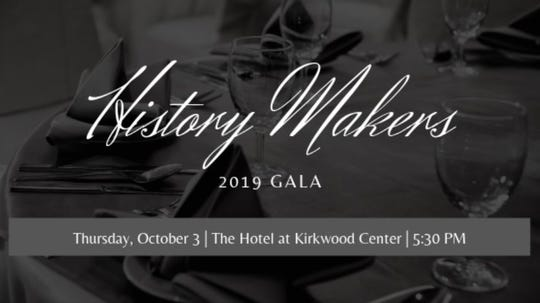 Flyer for the History Makers 2019 Gala